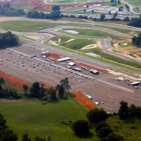 NCM Aerial photo of facility and track