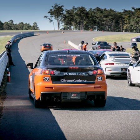 xtreme xperience supercars in the pits of thunderbolt raceway at NJMP