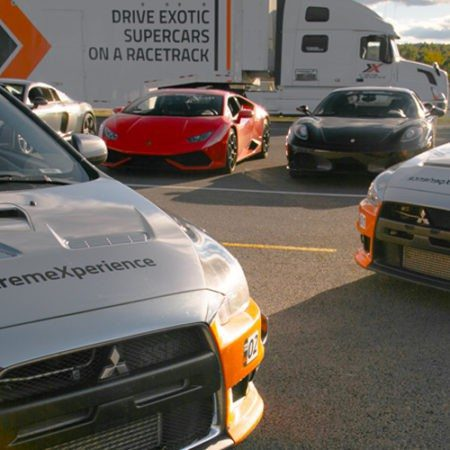 xtreme xperience fleet of supercars at pitt race